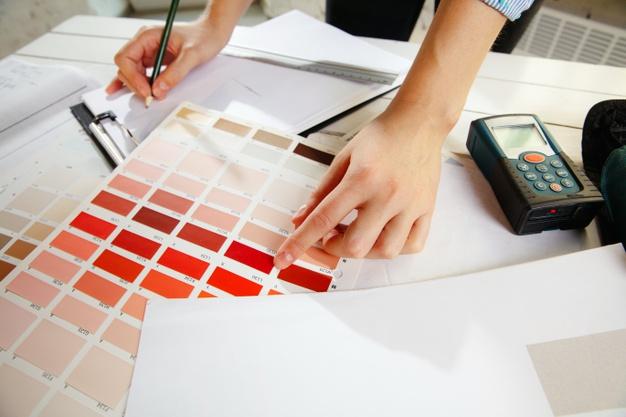 Prijs binnenhuisarchitect studie kleurenkeuze